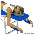portable massage table Robusta ST, incl. head rest + arm rest, 170/210x56x70-82 cm