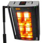 Halogen infrared heater IRS 2, tripod model
