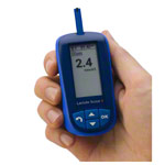 Lactate SCOUT 4 Solo, handheld with integrated Bluetooth