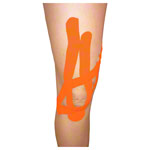 Cure Tape, 5 m x 5 cm, water resistant, orange