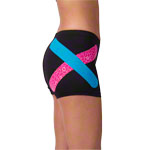 Thera-Band Kinesiology Tape XactStretch, 5 m x 5 cm, black/white