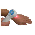 Holder for Handy Cure S 'soft laser combination device