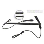 Gymstick incl. carrying bag, strong, black