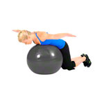 ARTZT vitality fitness ball Professional, Ø 55 cm, red