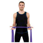 Sanctband resistance ribbon, 5,5 m x 15 cm, extra strong, purple