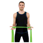 Sanctband resistance ribbon, 45 m x 15 cm, medium, green