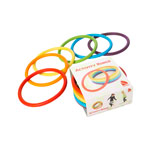 Activity rings, 6 pieces