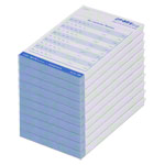 Appointment slip block, 10 blocks of 75 sheets (750 sheets), DIN A7