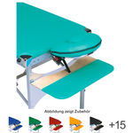 Armrest for Portable Massage Table Variant, blue