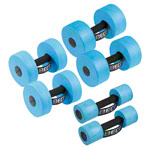 BECO Aqua Dumbbell Set 6 pcs., 1 pair each Size S, M, L