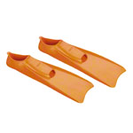 BECO Flippers, size 34-35, orange