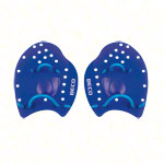 BECO Power Paddles swimming trainer, size M, pair, blue