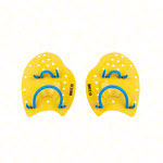 BECO Power Paddles swimming trainer, size S, pair, yellow