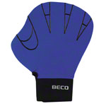 BECO neoprene gloves without finger hole, size L, pair, blue