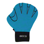 BECO neoprene gloves without finger opening, size S, pair, turquoise