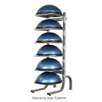 BOSU storage rack for 6 balance trainer, LxWxH 55x93x185 cm