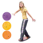 Balanco Movement Game Zickzack-Game with 3 changeable inserts