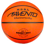 Basketball Power Basket, size 7, orange