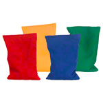 Beanbags small set, 135 g, 15x9 cm, 4 pieces.