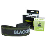 Blackroll Resist band, 190x6 cm, extreme, black