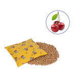 Cherry stone bags with cotton cover Kids, 19x19 cm