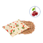 Cherry stones bags with cotton cover small, 19x19 cm