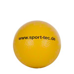 Coated foam ball, Ø 16 cm, yellow