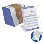 Copy of appointment slip, 10 blocks of 75 sets (1500 sheets), DIN A7, incl. dispensor box