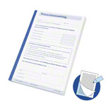 Copy of prevention contract, 1 block of 100 sets (200 sheets), DIN A5