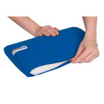 Cotton cover for lumbar pillow