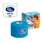 Cure Tape, 5 m x 5 cm, water resistant, blue/ n