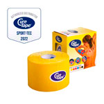 Cure Tape, 5 m x 5 cm, water resistant, yellow