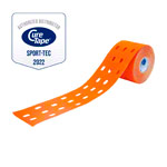 Cure Tape Punch, 5 m x 5 cm, water resistant, orange
