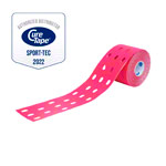 Cure Tape Punch, 5 m x 5 cm, waterproof, pink