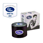 Cure Tape Sports, 5 m x 5 cm, waterproof, black