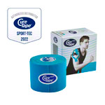 Cure Tape Sports, 5 m x 5 cm, waterproof, blue