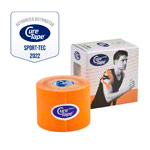 Cure Tape Sports, 5 m x 5 cm, waterproof, orange