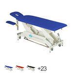 Delta therapy table DP4 with wheel lift system and all-round switch