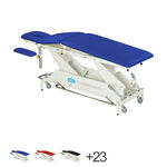 Delta therapy table DP5 with wheel lift system and all-round switch