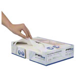 Disposable nose slit cloths, 30x21 cm, 100s set, in a dispenser box