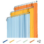 Dividing curtain for telescopes 120 cm, 175x140 cm