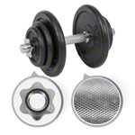 Dumbbell-set, 20 kg, 7-pcs.