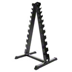 Dumbbell stand for 20 dumbbells, 74x62x128 cm