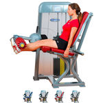 ERGO-FIT Leg extension 4000 med