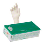 Examination gloves made of latex, size L / 8-9, powder free, 100 pieces