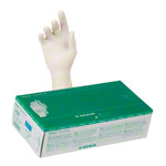 Examination gloves made of latex, size S / 6-7, powder free, 100 pieces