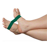 Exercise Band Ankleciser, heavy, green, set of 5