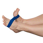 Exercise band Ankleciser, extra heavy, blue, set of 5
