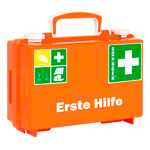 First Aid Case Quick according to DIN 13157, incl. Wall Mount