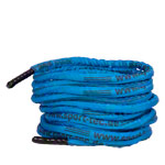 Fitness cable Battle Rope coated, Ø 3 cm x 20 m, blue, 7 kg
